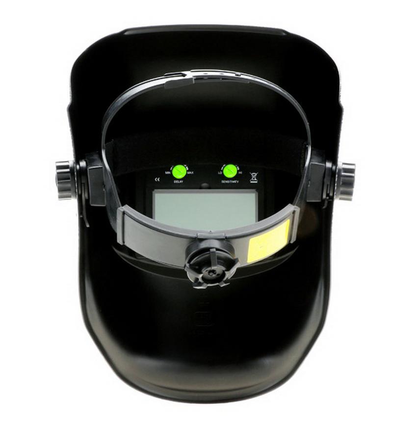 Solar Powered Auto Darkening Welding Helmet Arc Tig Mig Grinding Protective Weld Mask 3