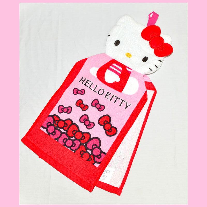 Hello Kitty 立體剪裁 大擦手巾 帶回  100%綿