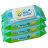 Combi康貝 - 超純水嬰兒柔濕巾80抽 3包/串 0