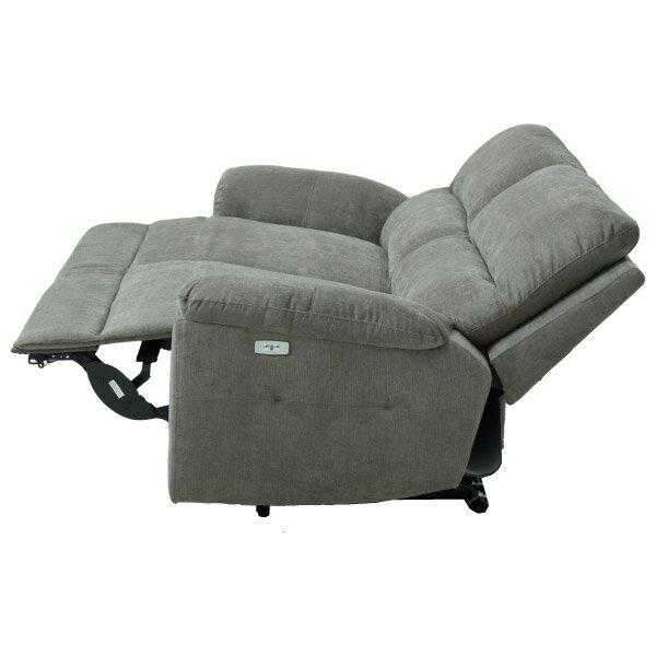 ◎布質3人用電動可躺式沙發 N-BEAZEL DBR NITORI宜得利家居 3