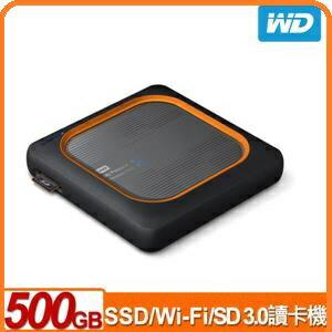 WDMyPassportWirelessSSD500GB外接式Wi-Fi固態硬碟