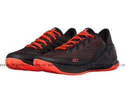 《下殺5折》Shoestw【1286376-963】UNDER ARMOUR CURRY 3 LOW UA 籃球鞋 低筒 黑橘紅 男生