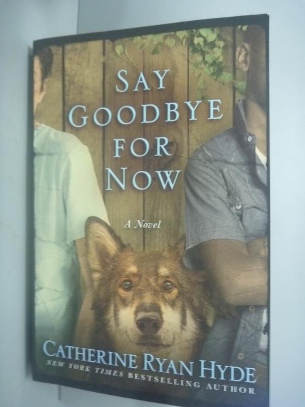 ~書寶 書T6/原文小說_KFU~Say Goodbye for Now_Hyde Cat