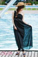 時尚洋裝 小禮服推薦到[瑪嘉妮Majani]- 甜美 氣質 大尺碼小禮服 伴娘服 宴會 約會 L~3XL 特價790元 ds-041
