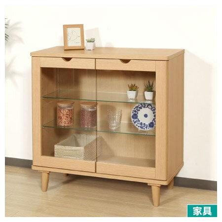 ◎木質矮置物櫃LUFFY2-80NANITORI宜得利家居