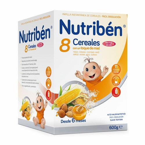 Nutriben貝康8種穀類豆豆麥精600g【悅兒園婦幼生活館】