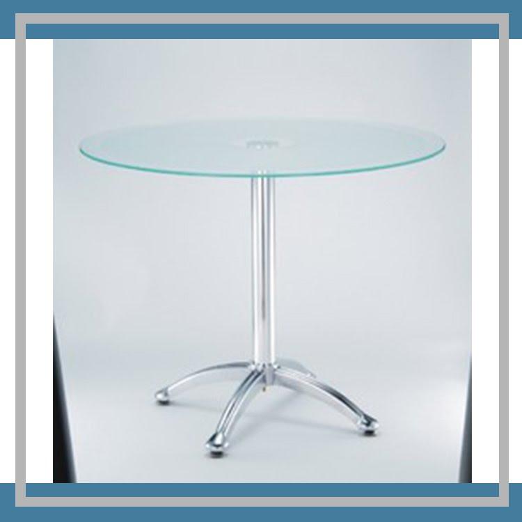 『商款熱銷款』【辦公家具】 ML-801 玻璃洽談桌 桌子 休息室 圓桌