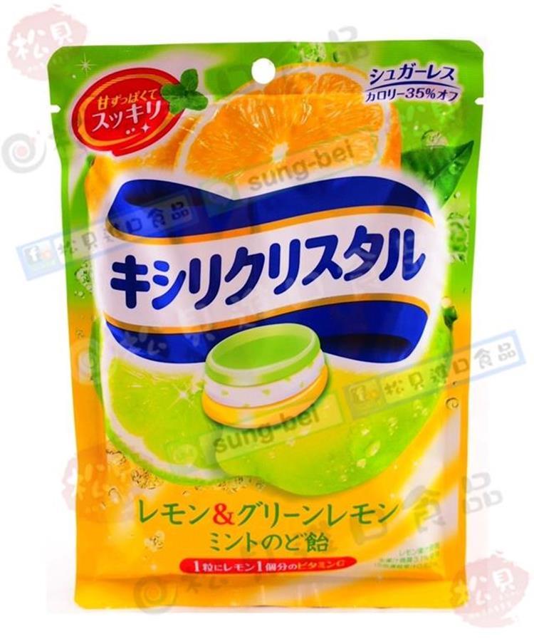 《松貝》三星低卡檸檬薄荷喉糖63g【4547894702574】ca54