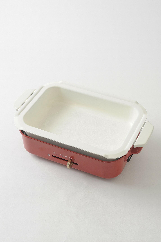 【日本BRUNO】多功能鑄鐵電烤盤(經典紅)+料理深鍋 5