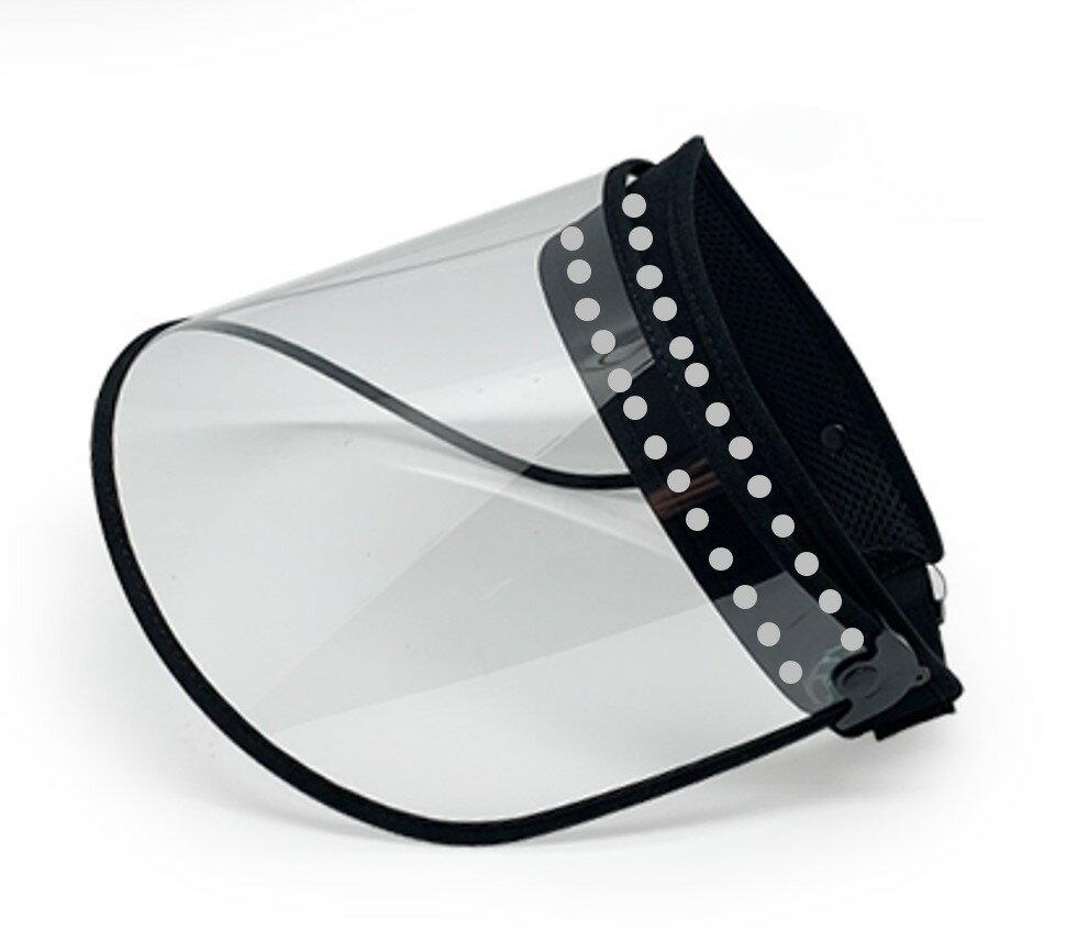 (在台現貨)防疫面罩 可調式面罩  全臉防護罩  高透明面罩(可調控升級版)