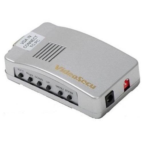 VideoSecu PC VGA to AV TV RCA Video Converter Adapters Box MAC CCTV  Surveillance 1L7