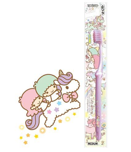 【LOMO樂姆】日本進口~ 大童成人 Little twin stars 雙子星牙刷