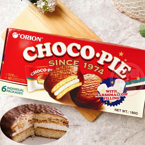韓國ORION好麗友 巧克力派 6個入 (180g) [SL050] 促銷