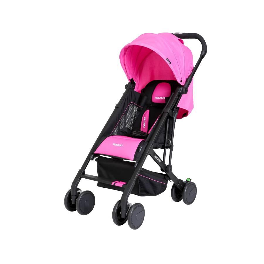 RECARO - Easylife嬰幼兒手推車 (桃紅粉) 附原廠背帶一條 - 限時優惠好康折扣