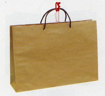 紙袋2K~20入~橫~牛皮~棉把手 pbag~006