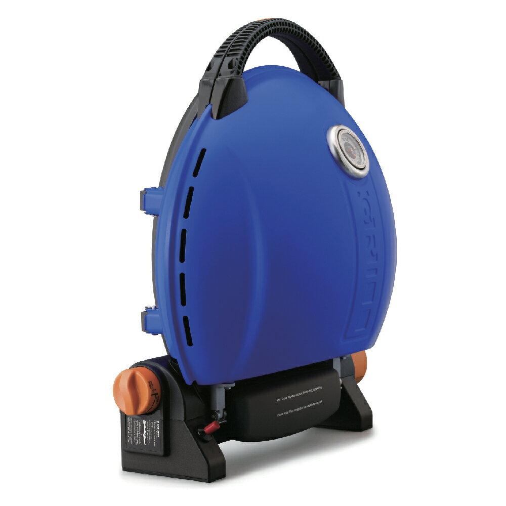 O-Grill 3500T 美式時尚可攜式瓦斯烤肉爐 - 帥氣藍