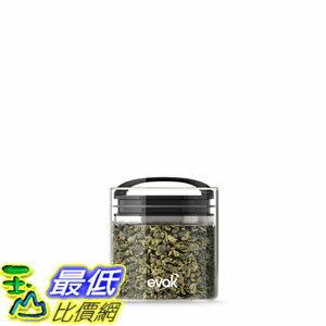 [106美国直购] Prepara 3018 EVAK 密封罐 黑S (单入) 咖啡豆 茶叶适用