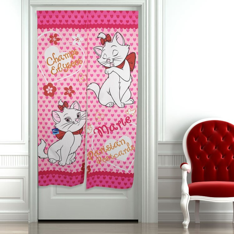 迪士尼門簾 / 熱銷 / 約寬85 高150 / 雙開 / 1043瑪麗貓