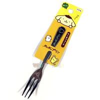 布丁狗周邊商品推薦到日本製布丁狗 PomPomPurin不鏽鋼叉子 13.3cm 環保餐具 環保 開學 日本進口正版 173065