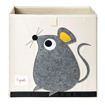 加拿大 3 Sprouts 收納箱-老鼠★愛兒麗婦幼用品★