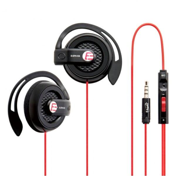 E-booksS39電競音控耳掛耳機麥克風加贈一轉二AV轉接線音量調節隱藏式麥克風【迪特軍】