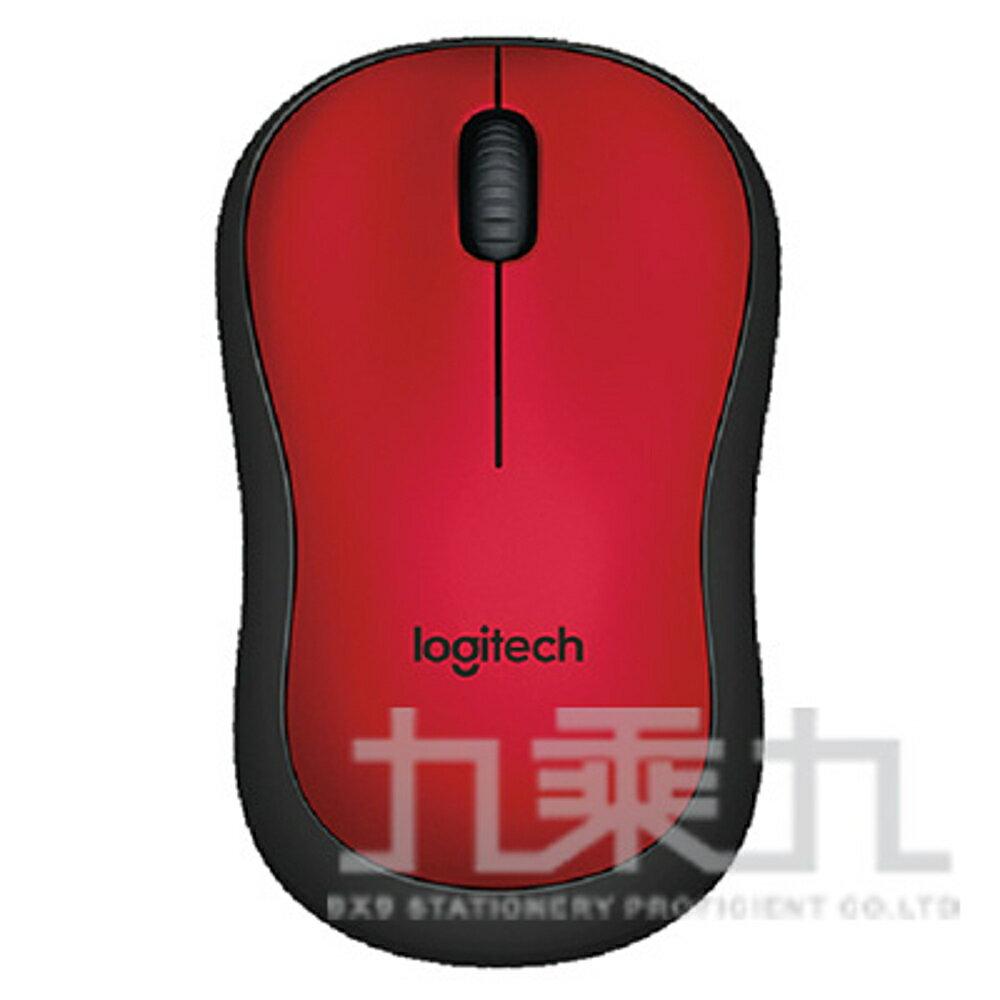 【618購物節 最低五折起】羅技 M221 靜音無線滑鼠-紅