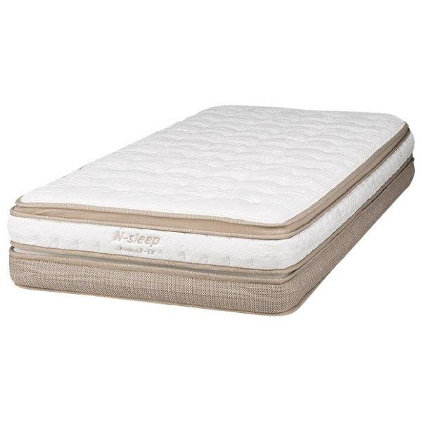 ◎獨立筒彈簧床 可拆式雙層床墊 N-SLEEP P2-CR 雙人加大 NITORI宜得利家居 1