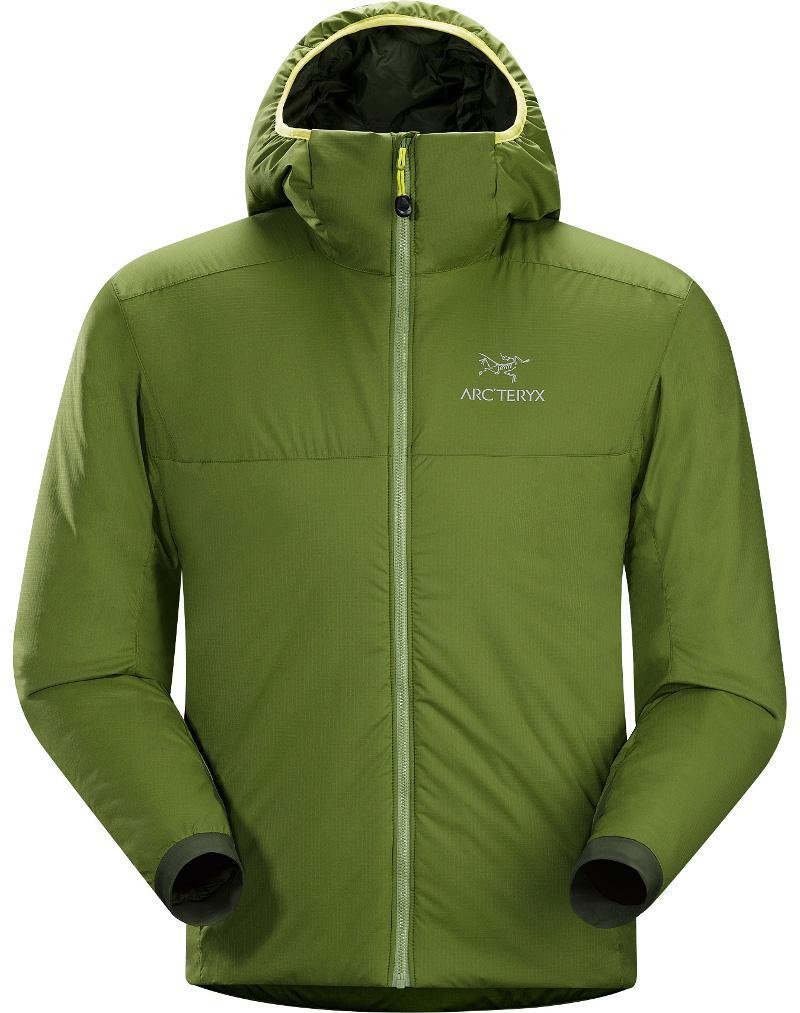 [ Arcteryx 始祖鳥 ] 14648 Atom AR Hoody 連帽化纖保暖外套/防潑水滑雪外套/雪衣/登山保暖層 男款 雙葉綠Arc'teryx