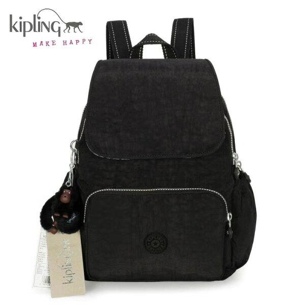 【iWork】Kipling吉普林凱普林尼龍包(大)雙肩後背包