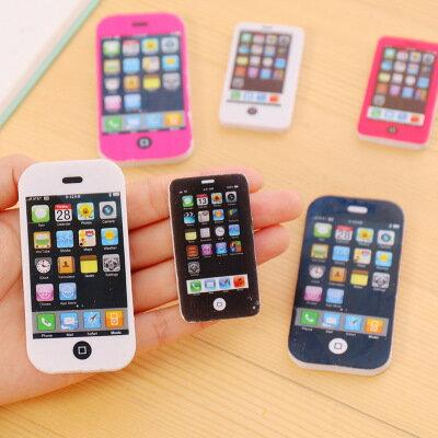 美琪(哀鳳迷)創意iphone蘋果手機造型橡皮擦小學生最好獎品