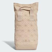 Adidas愛迪達,adidas愛迪達後背包推薦到ADIDAS 3D Roll Top Backpack 後背包 雙肩 休閒 旅遊 菱格 大容量 乾燥玫瑰【運動世界】DT6296