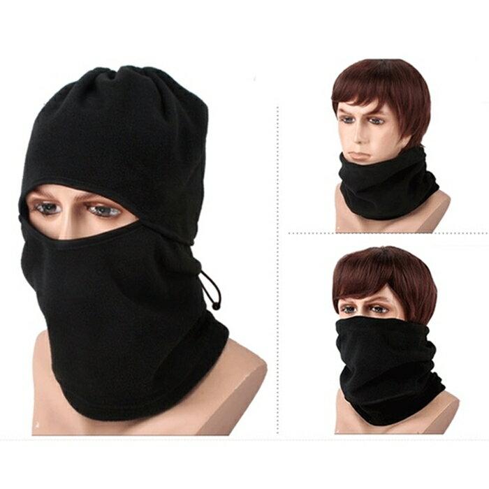 [Hare.D] 騎行面罩 冬季加厚 滑雪 防寒頭套 多功能 防風護臉 保暖面罩 男女 防霧霾