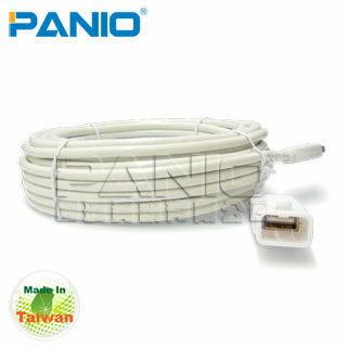 *╯新風尚潮流╭*PANIO USB2.0 訊號加強延長線 電腦USB孔延長傳輸線 6米 UE06C