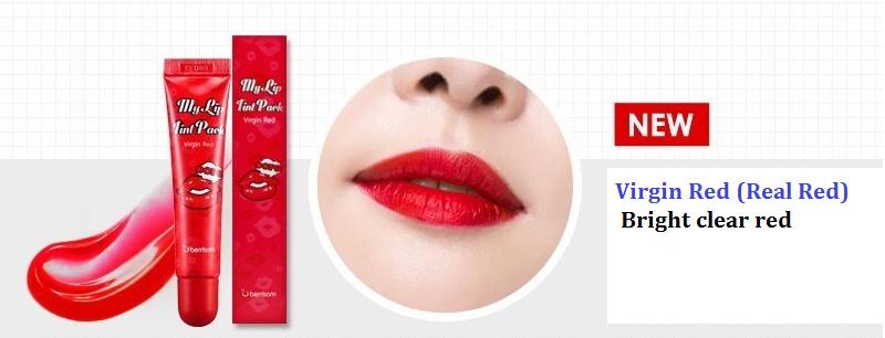 韓國 Berrisom 可撕式染色唇膜 15g virgin red *夏日微風*