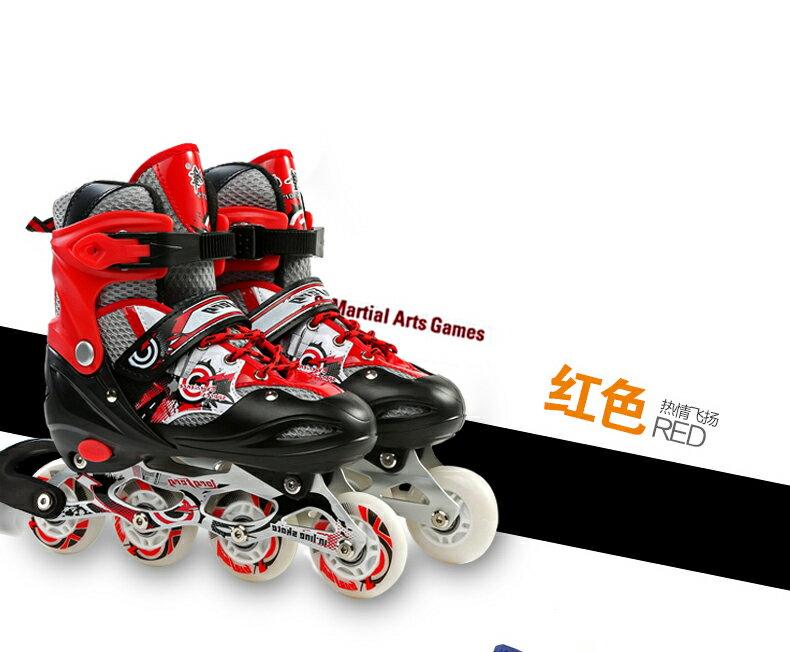 {極限速度}兒童全세트套裝 溜冰鞋成人成年旱冰鞋滑冰 直排輪滑鞋七天預購+現貨