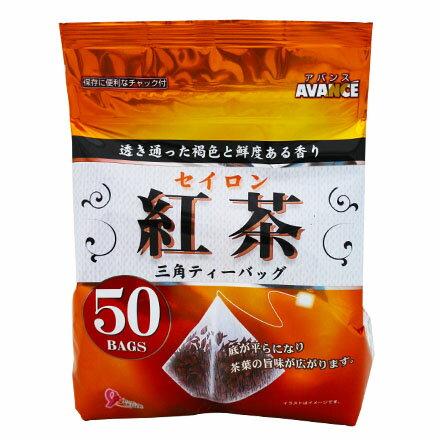 [敵富朗超市]國太樓 立體三角包-錫蘭紅茶 (50包入)