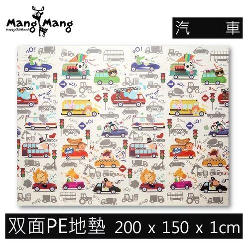 【Mang Mang】小鹿蔓蔓-雙面PE遊戲地墊(汽車)200X150X1cm★愛兒麗婦幼用品★
