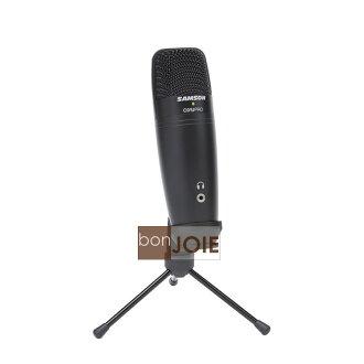 ::bonJOIE:: 美國進口 Samson C01U Pro 黑色款 USB 電容式麥克風 (全新盒裝) Studio Condenser Microphone MIC C01UPro C01