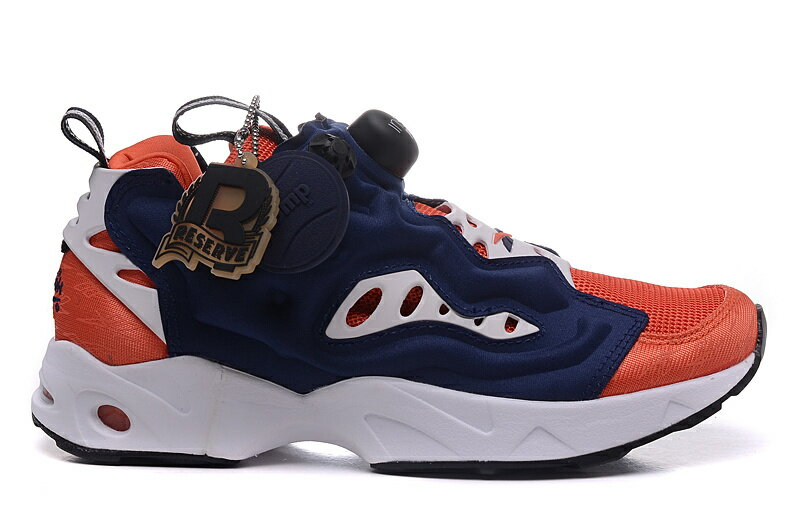 Reebok Insta Pump Fury Road 深藍橘 情侶款