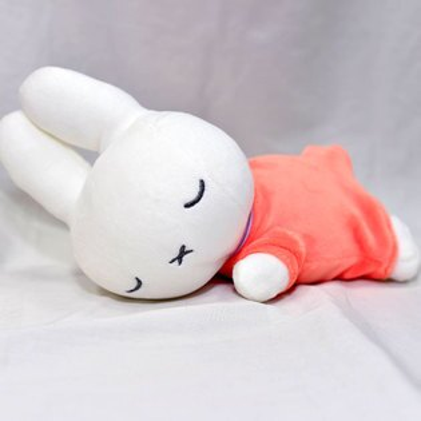 Miffy米菲兔安睡絨毛玩偶日本帶回正版商品TAKARATOMY
