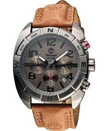 Timberland 天柏嵐 極致探險計時腕錶 鐵灰