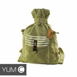 【美國Y.U.M.C. Melrose休閒系列Veshmeshok Rucksack 帆布束口袋後背包 香檳黃】電腦包/雙肩包 【風雅小舖】
