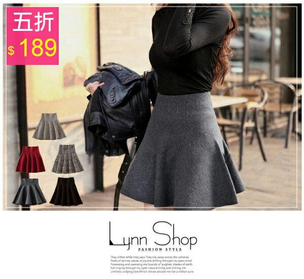 [滿700現折$100]    甜美波浪高腰針織短裙- 5色【03110044】