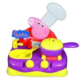 Peppa Pig 粉紅豬小妹 佩佩豬音效瓦斯爐組