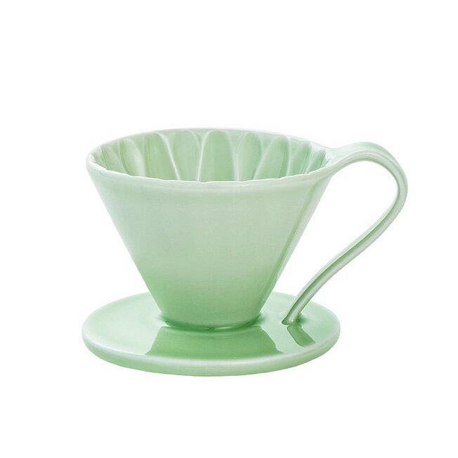 金時代書香咖啡 CAFEC CFD-1GR 陶瓷咖啡濾器 (小) (綠)HG9052