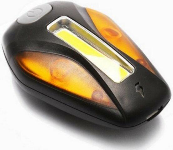 《ET警示燈》一個燈兩個顏色同時可用 USB充電警示燈內建鋰電池 LED高亮度 自行車尾燈警示燈尾燈後車燈RAYPAL