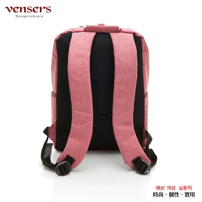 【vensers】簡約丹寧牛仔後背包(R00061605粉色) 1