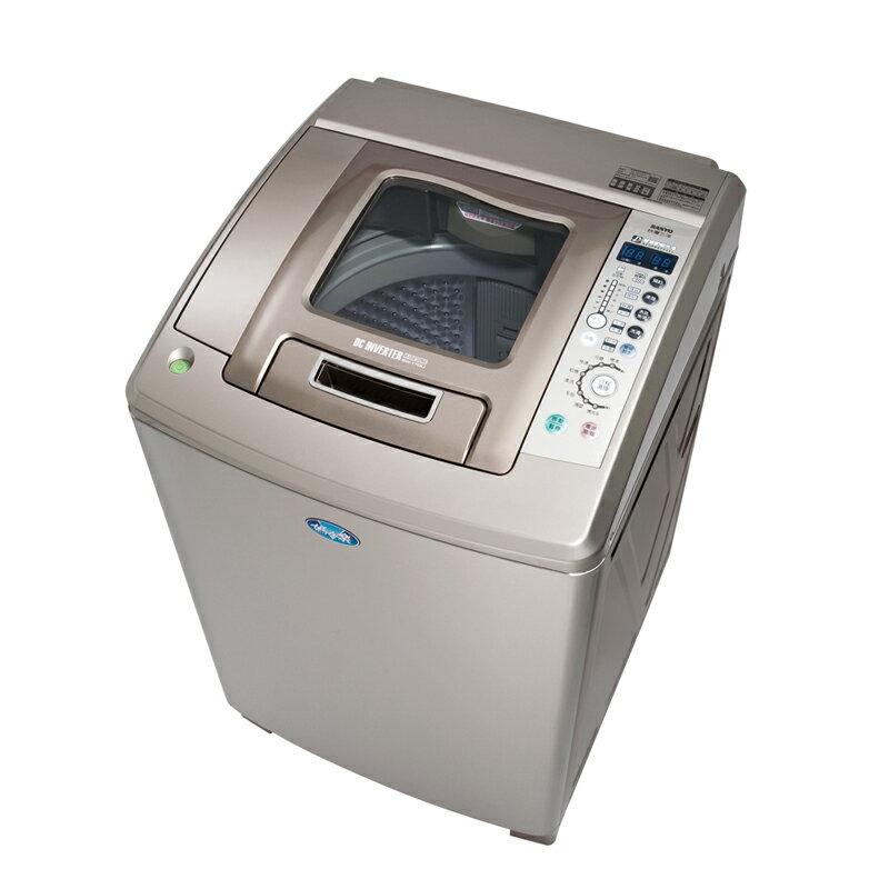 【台灣三洋SANLUX】DD直流變頻。13kg鑽石內槽單槽洗衣機(SW-13DUA)