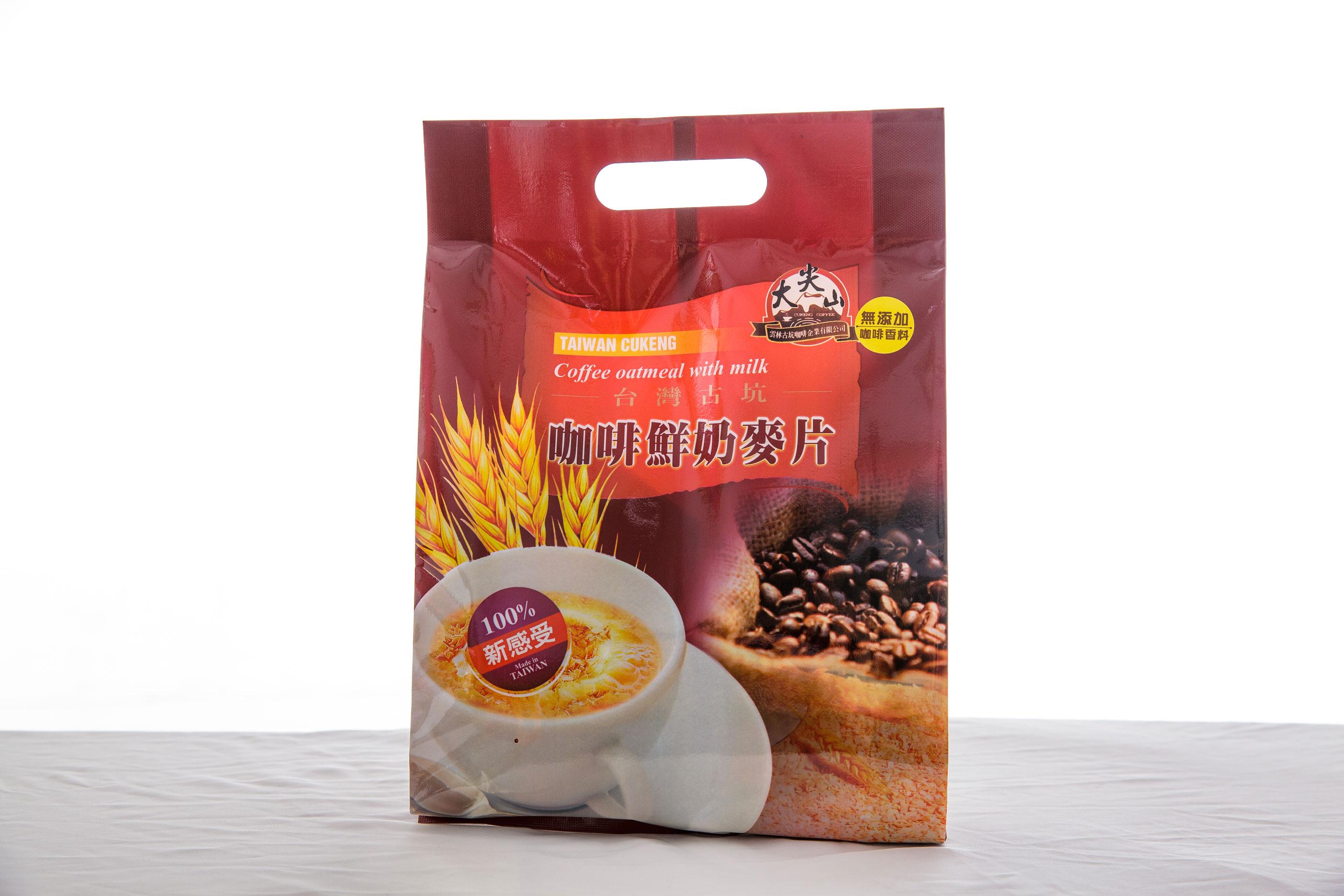 [古坑咖啡~TGC]台灣咖啡鮮奶麥片分享包 12入/袋