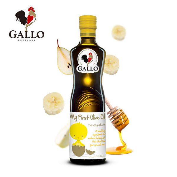 GALLO 貝貝橄露(冷壓初榨橄欖油) 250ml好窩生活節